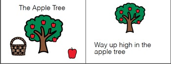 Way Up High in the Apple Tree Book