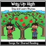 Way Up High in the Apple Tree    Google Slides   Pocket Chart   Shared Reading