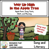 Way Up High in the Apple Tree Fall Song and Literacy Pack