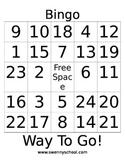 Way to Go Bingo