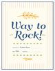 Way to Rock Certificate