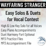 Wayfaring Stranger - Easy Solos & Duets for Vocal Contest
