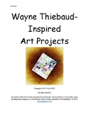 Wayne Thiebaud Inspired Art for Grades K-8