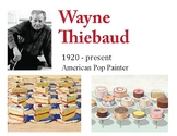 Wayne Thiebaud Art Lesson - Paiting Candy