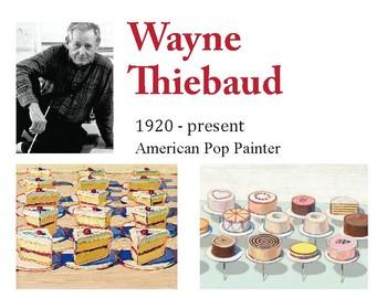 Wayne Thiebaud Art Lesson - Paiting Candy