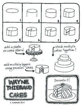 Wayne Thiebaud - CAKES!