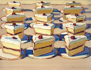 Wayne Thiebaud Desserts Art Lesson