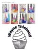 Wayne Thiebaud Inspired Cupcake Art Project