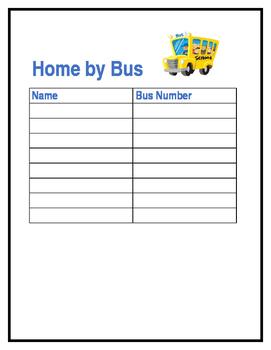 Ways Home Chart