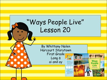 Ways People Live Storytown Lesson 20