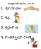 Ways To Greet My Teacher- ENGLISH WITH VISUALS