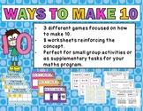Ways To Make 10 Activity Pack