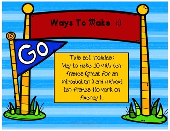 Ways To Make 10 (sums of 10)