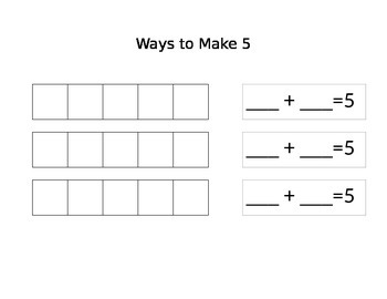 Ways To Make 2-10