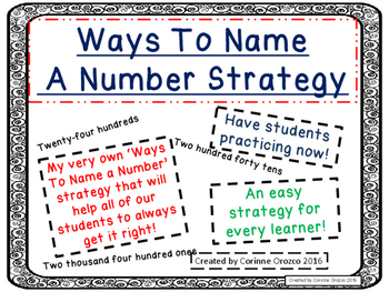 Ways To Name A Number