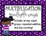 Ways To Show Multiplication Graphic Organizer Printable