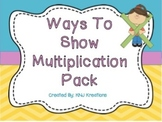 Ways To Show Multiplication Pack