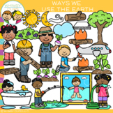 Ways We Use the Earth Clip Art {Whimsy Clips Earth Day Clip Art}