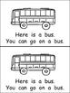 Ways You Can Go- Nonfiction Leveled Reader- Level B Kindergarten Transportation