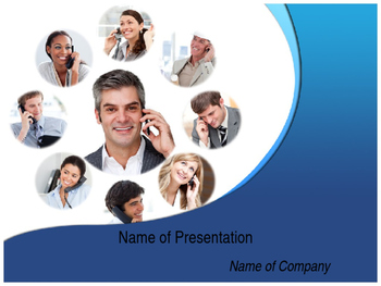 Ways of Telecommunication PPT Template