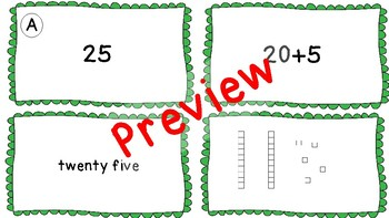 Ways of Writing Numbers -Place Value Cards