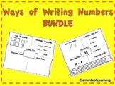 Ways of Writing Numbers Bundle