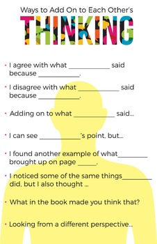 Ways to Add On to Each Other's Thinking