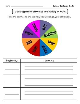 Ways to Begin Sentences