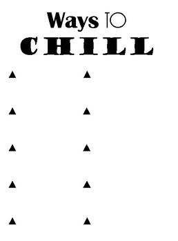 Ways to Chill