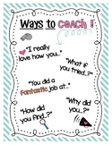 Ways to Coach Poster