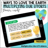 Ways to Love the Earth: MULTIPLYING Our Efforts BOOM Cards™