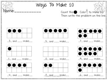 Ways to Make 10