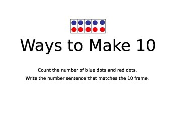 Ways to Make 10