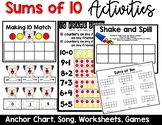 Ways to Make 10 Song and Anchor Chart