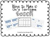Ways to Make 10 Ten Frame Scoot!