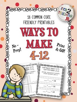 Ways to Make 4-12 Printables (No-Prep)