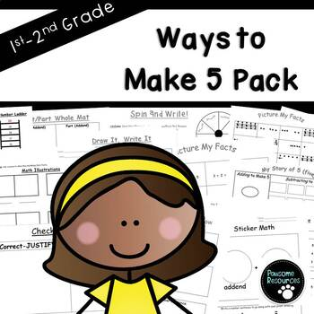 Ways to Make 5 Fact Pack-EDITABLE!