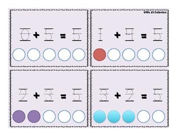 Ways to Make 5 Math Center!