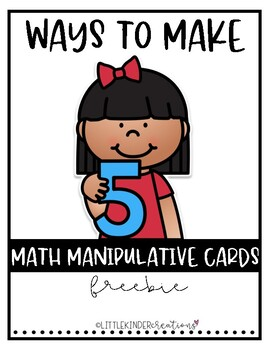 Ways to Make 5 Mats Freebie