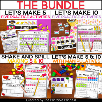 Ways to Make 5 / Ways to Make 10 BUNDLE