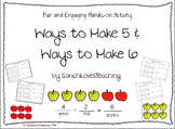 Ways to Make 5 and Ways to Make 6