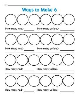 Ways to Make 6