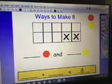 Ways to Make Eight (Ten Frame Activity)