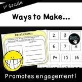 Ways to Make-Fact Fluency Activity (First Grade, 1.OA.6)