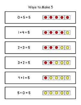 Ways to Make Five Mini Anchor Chart