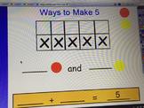 Ways to Make Five (Ten Frame Activity)