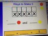 Ways to Make Five (Ten Frame Activity)
