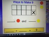 Ways to Make Nine (Ten Frame Activity)