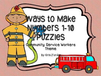 Ways to Make Numbers 1-10 Puzzles