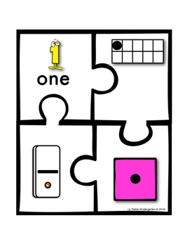 Ways to Make Numbers 1-20 Puzzles